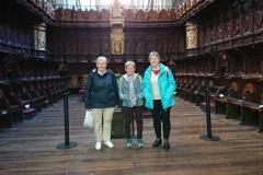 trois paroissiennes à Avila