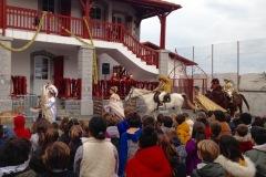 l'arrivée des Rois à cheval