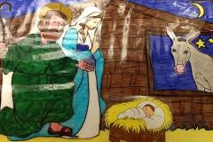 Crèches des enfants de l'école st François Xavier