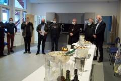 L'inauguration par Mgr Aillet, évêque de Bayonne,