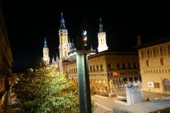 Saragosse la nuit